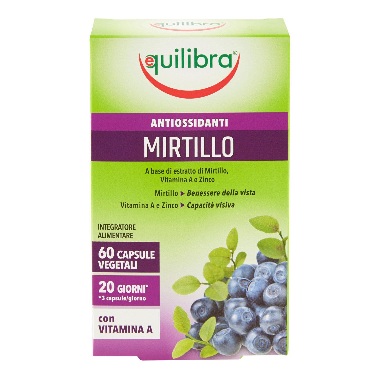 MIRTILLO VEGICAPS 60 PERLE