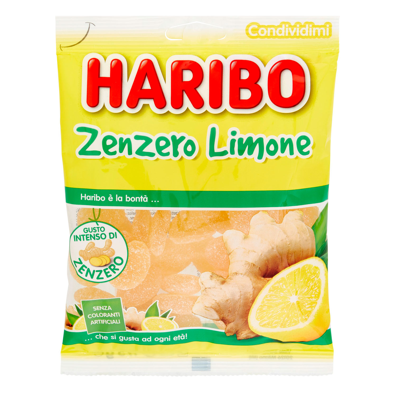 HARIBO ZENZERO LIMONE