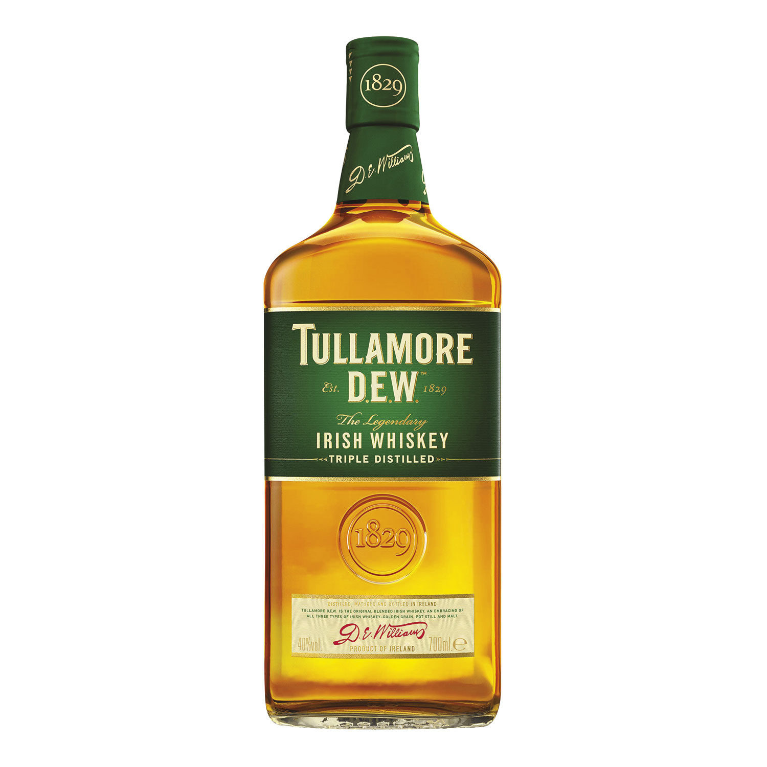 WHISKY TULLAMORE DEW CL 70