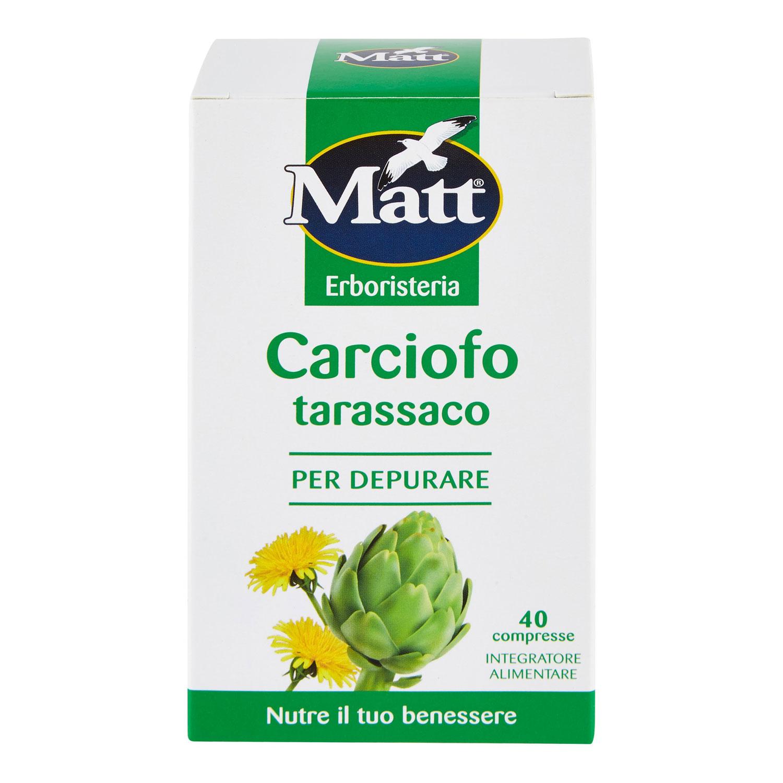 CARCIOFO TARASSACO 40 COMPRESSE