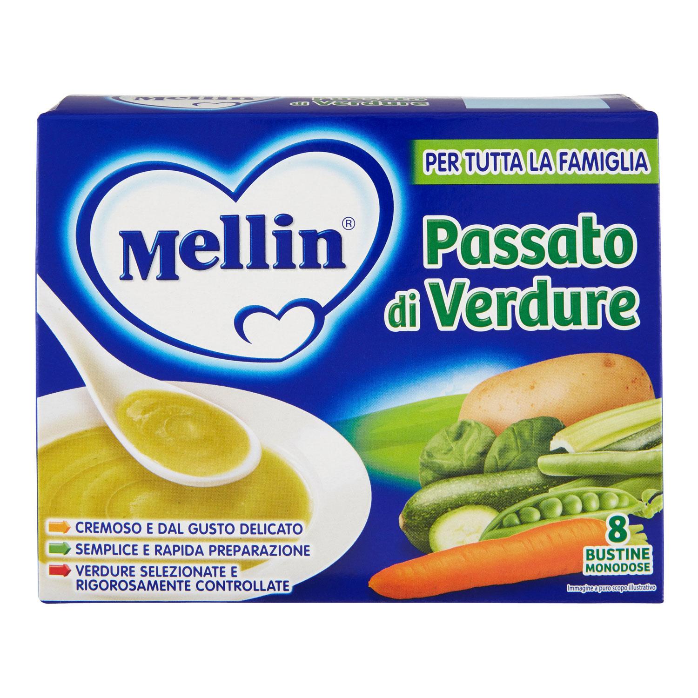 PASSATO DI VERDURA MELLIN 8X13GR