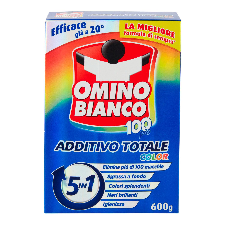 OMINO BIANCO ADDITIVO TOTALE 100+ COLOR 600 GRAMMI