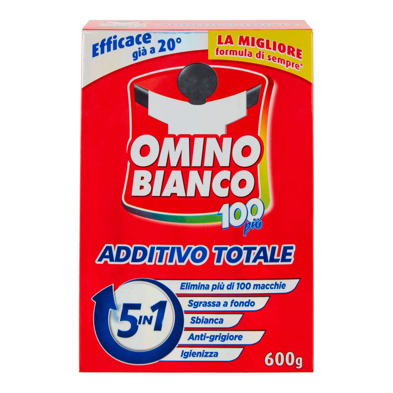 OMINO BIANCO ADDITIVO TOTALE 100+ 600 GRAMMI