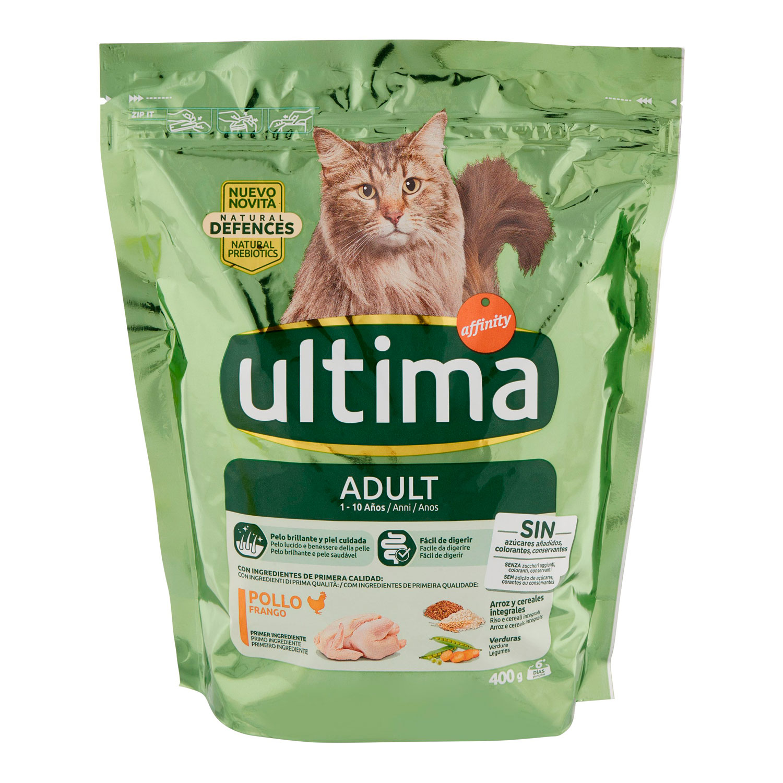 CAT ADULT POLLO E RISO
