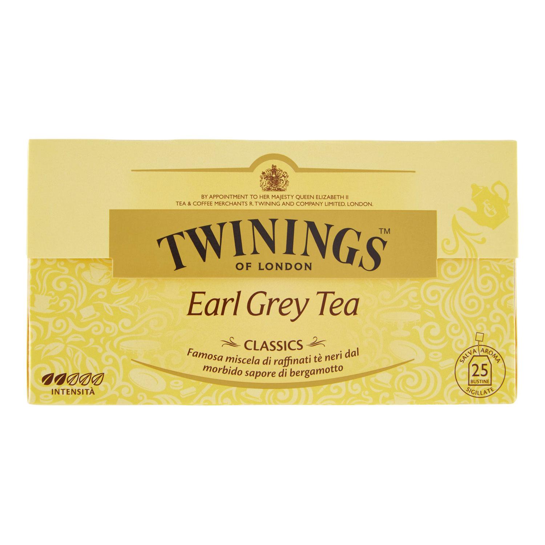 TEA EARL GREY 25 FILTRI