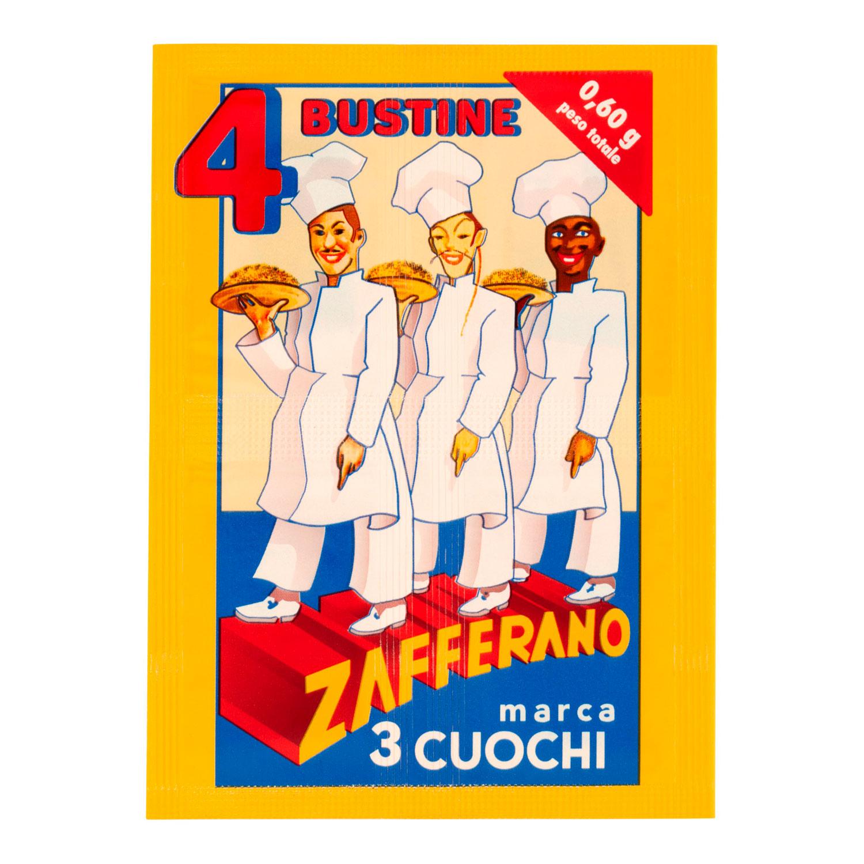4 BUSTE DI ZAFFERANO DA 0,15 GR CADAUNA