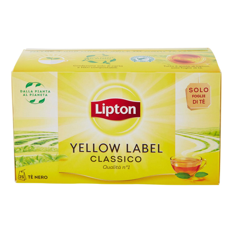 TEA YELLOW LABEL CLASSICO 25 FILTRI