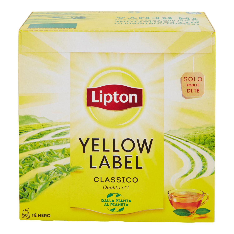 TEA YELLOW  50 FILTRI