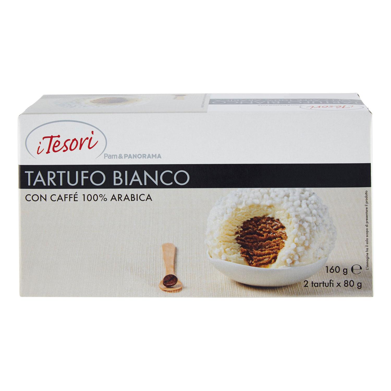 2 TARTUFI BIANCHI AL CAFFÈ I TESORI