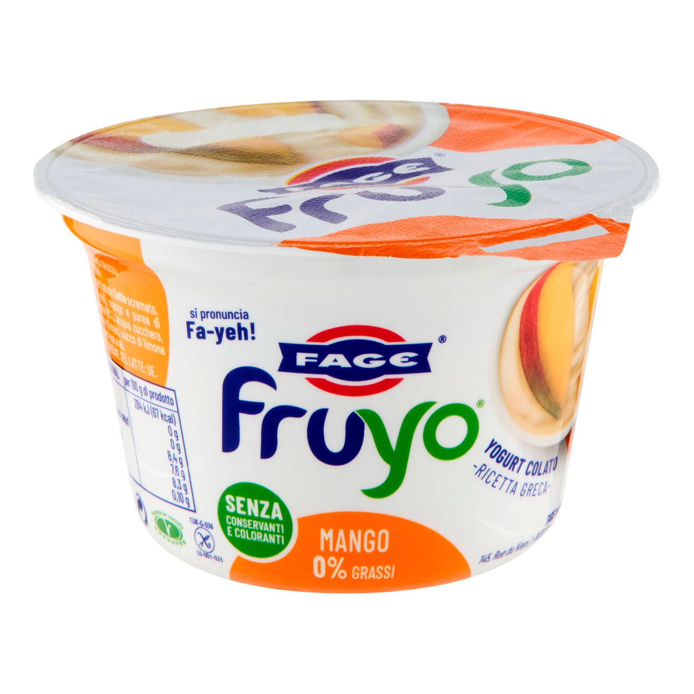 YOGURT FRUYO 0% GRASSI CON PEZZI DI MANGO