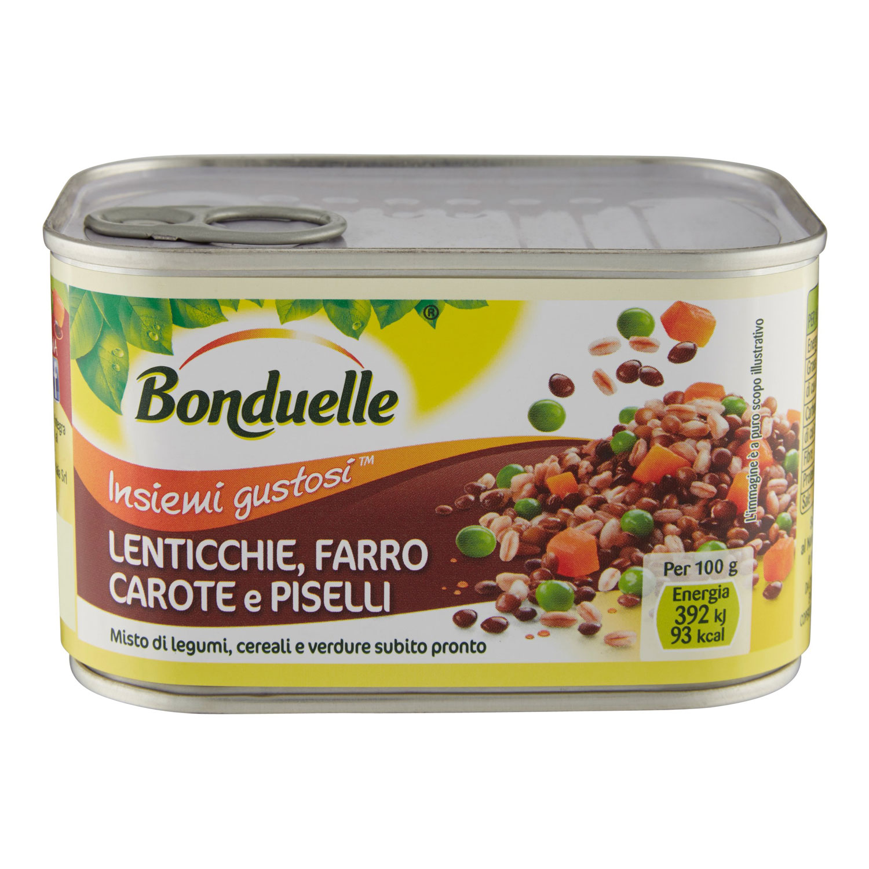 BONDUELLE FARRO/LENT/CAR.400GR