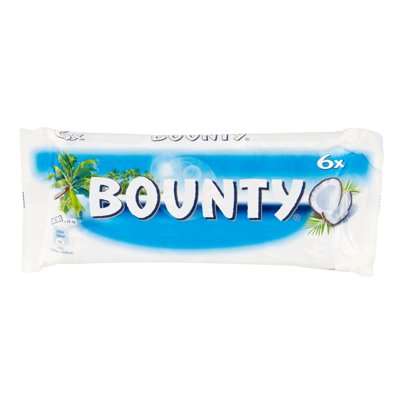 BOUNTY MINIS X 6