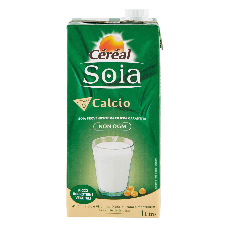 Céréal Soia Calcio 1 Litro
