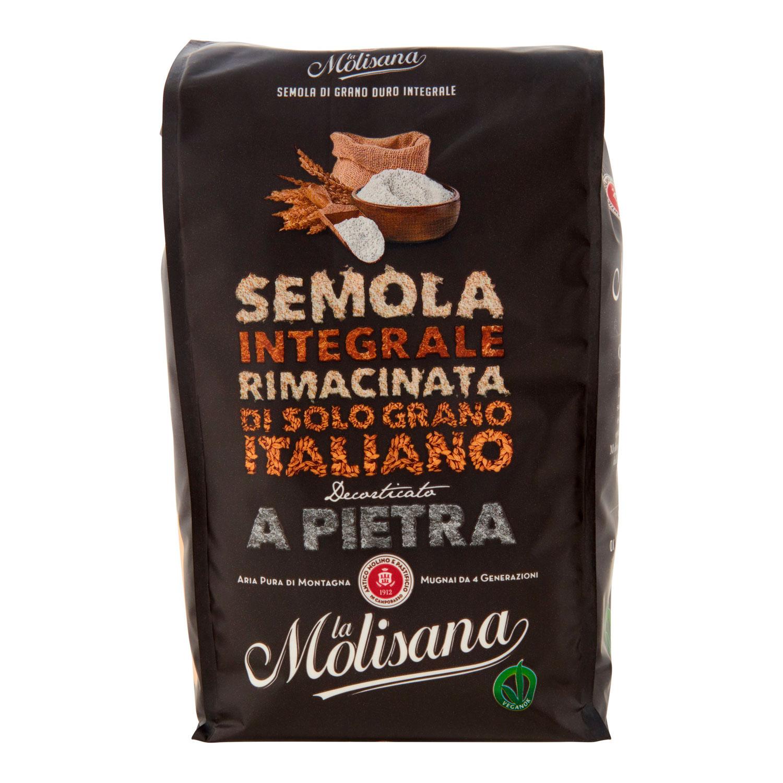 SEMOLA INTEGRALE RIMACINATA DI SOLO GRANO ITALIANO