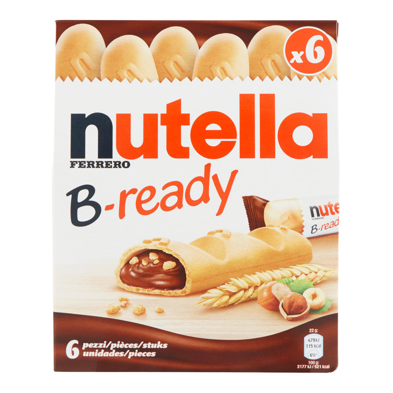 NUTELLA B-READY T6