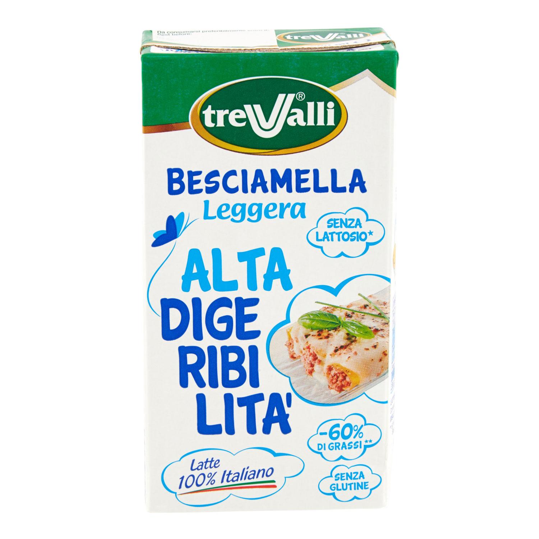 BESCIAMELLA LEGGERA ALTA DIGERIBILITA'