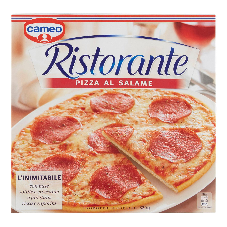 PIZZA SALAME RISTORANTE