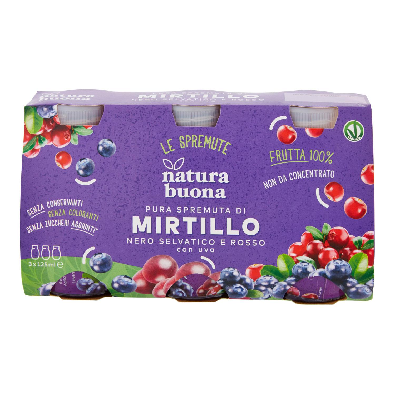 MIRTILLO BOTTIGLIE 125MLX3