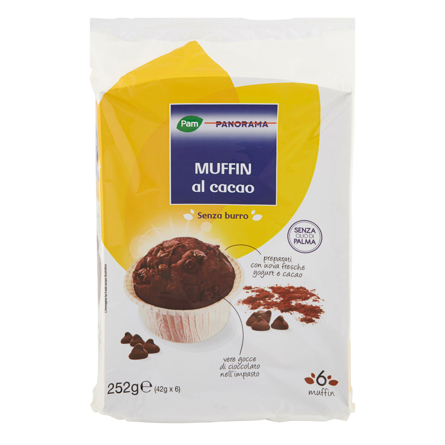 6 MUFFIN CACAO