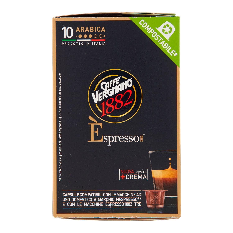 CAFFE' ESPRESSO ARABICA 10  CAPSULE COMPOSTABILE