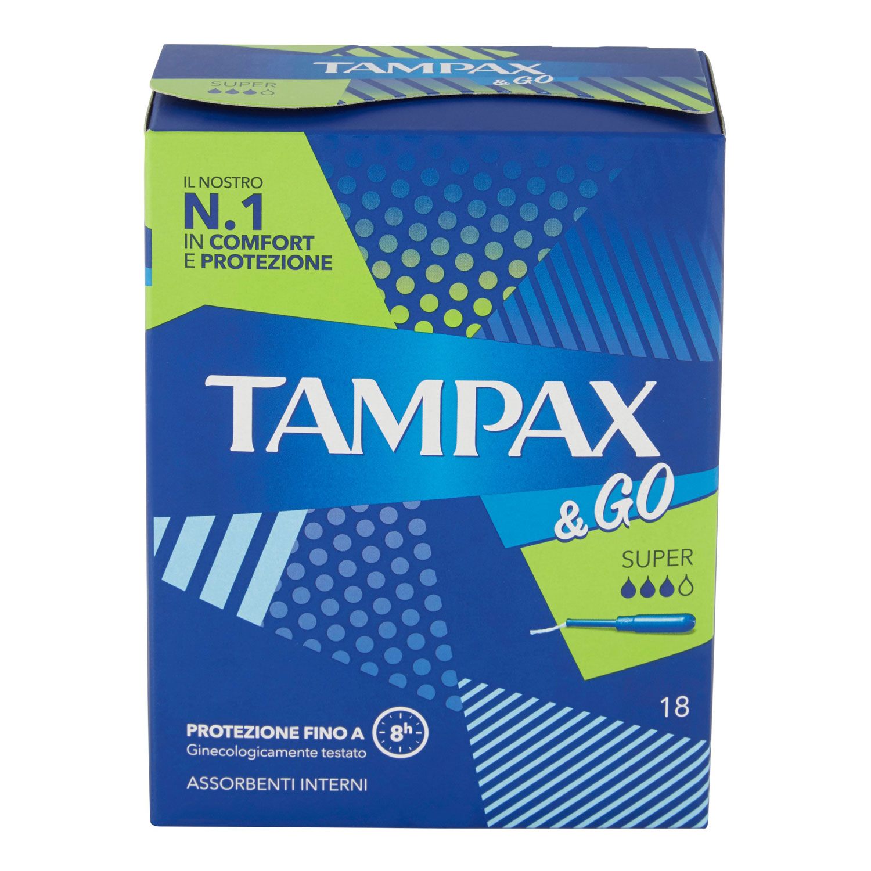 TAMPAX &GO SUPER