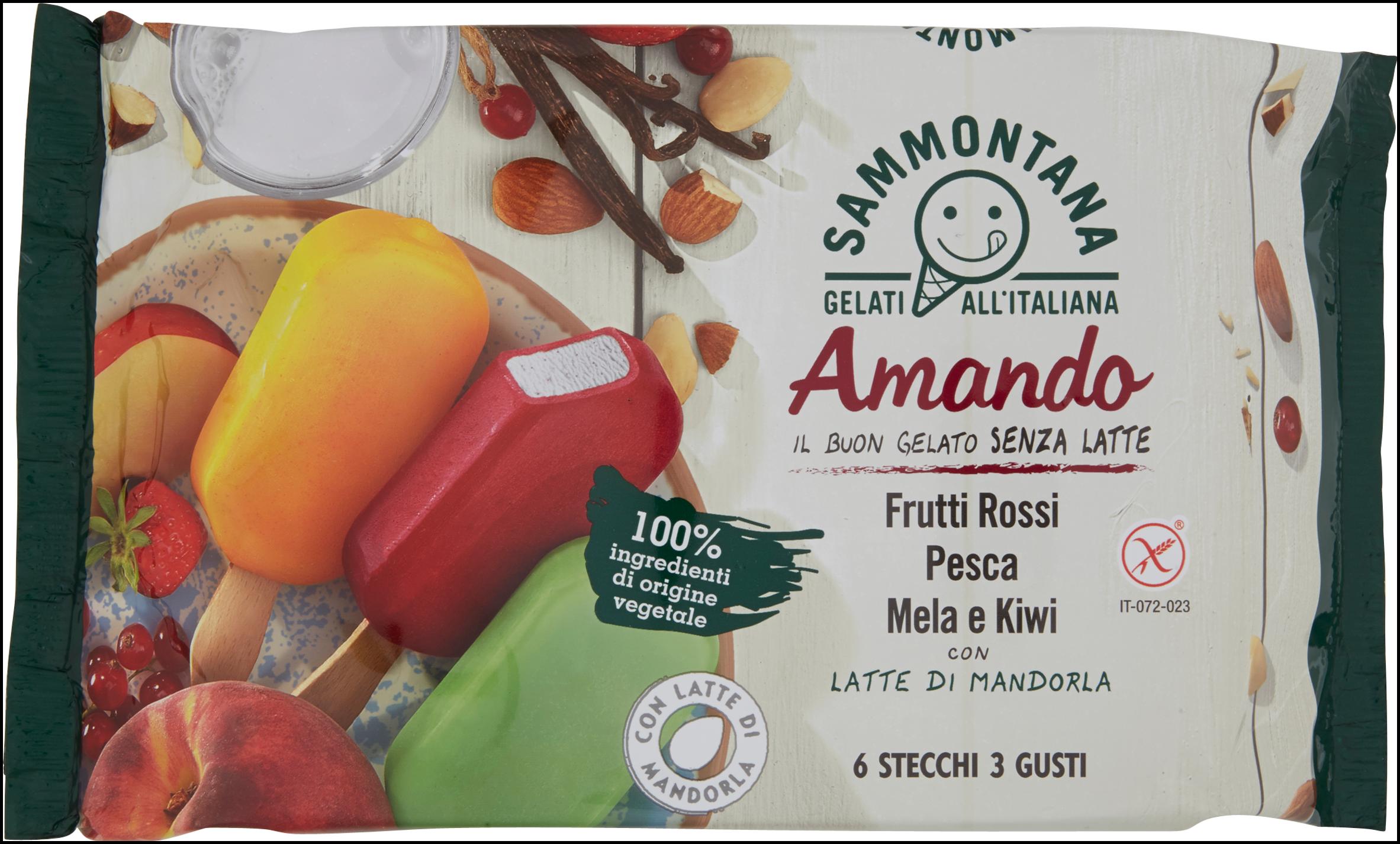 6 STECCHI AMANDO FRUTTA SAMM  PES/F.ROSS