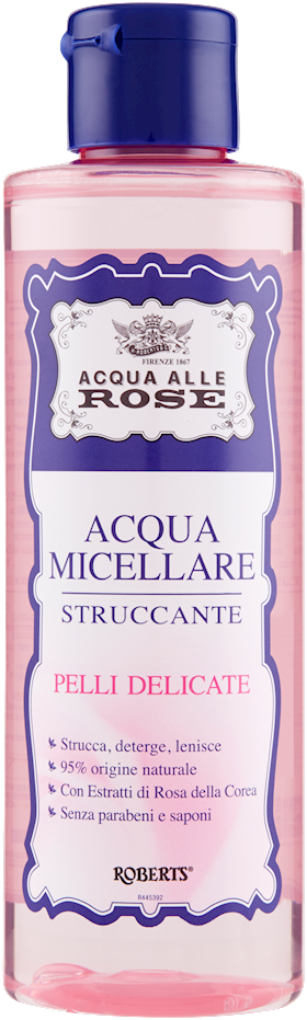 ACQUA MICEL. ACQUA ROSE 200ML PELLI DEL.
