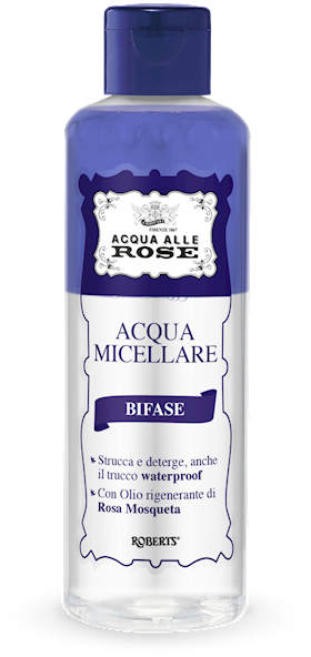 ACQUA MICELLARE ACQUA ROSE 200ML BIFASE