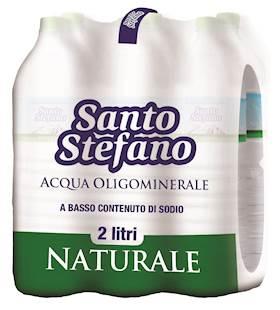ACQUA MINERALE NATURALE S.STEFANO  2LT.