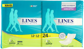 ASS.SOTTILE SUPER LINES X24 SPECIALIST