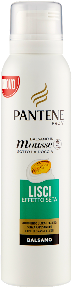 BALSAMO  MOUSSE PANTENE 140 ML LISCI