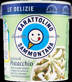 BARATT. DELIZIE PISTACCHIO SAMMONT.500GR