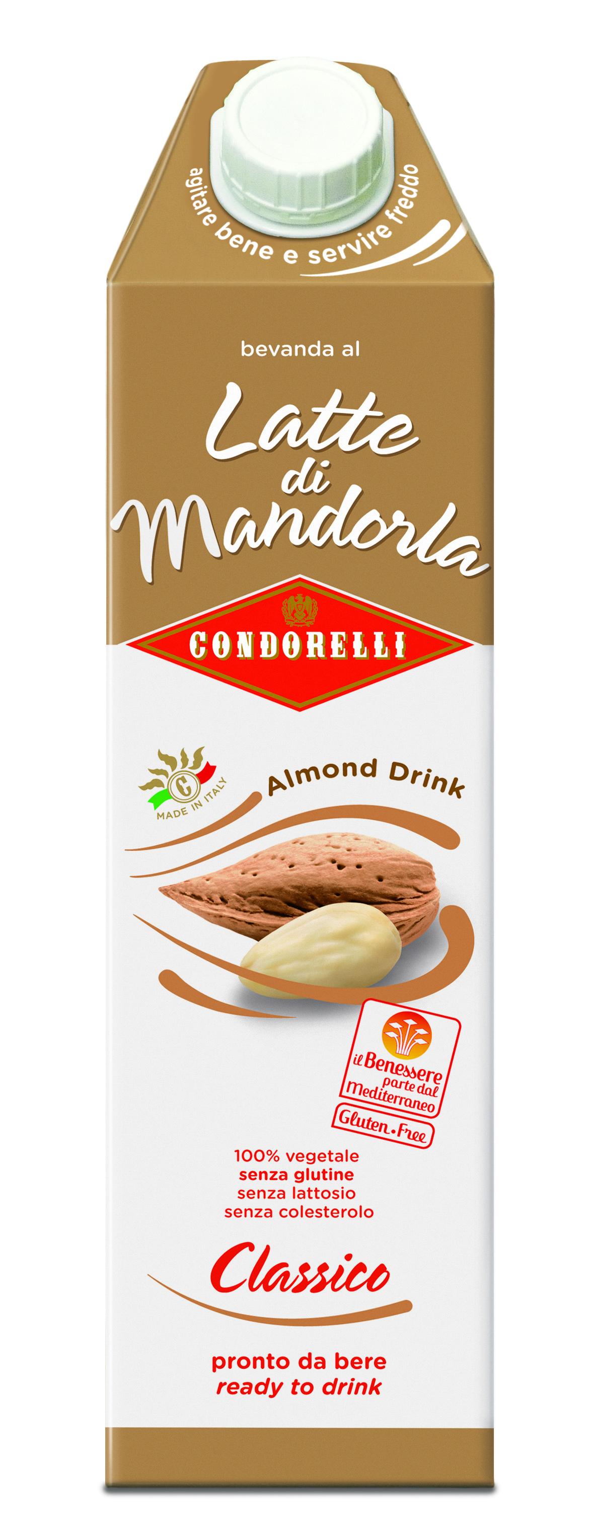 BEVANDA CONDORELLI 1L BRICK LATTE MANDOR