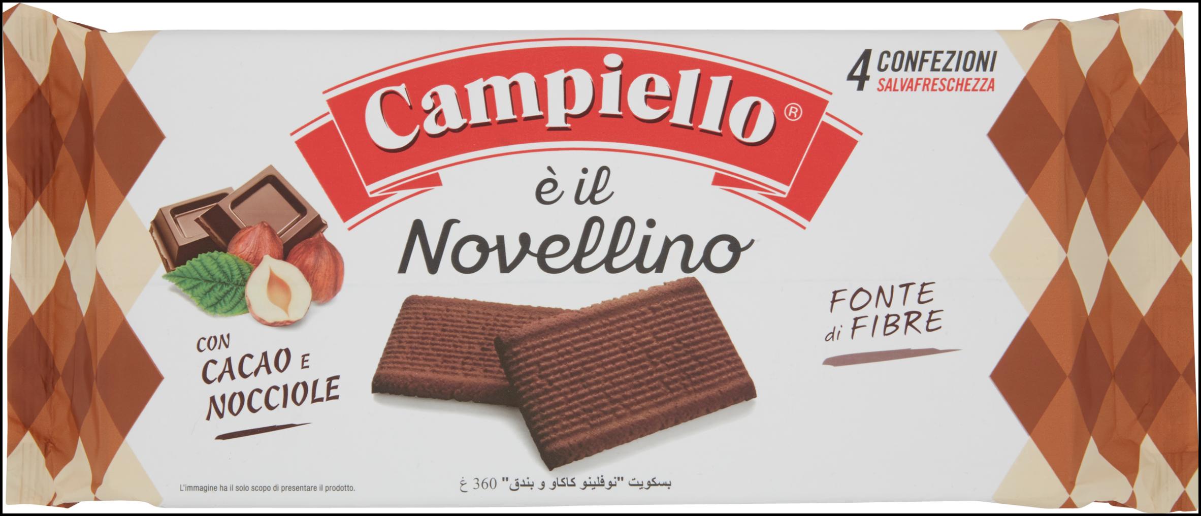 BISC. NOVELLINI CAMPIELLO 360G CAC/NOC