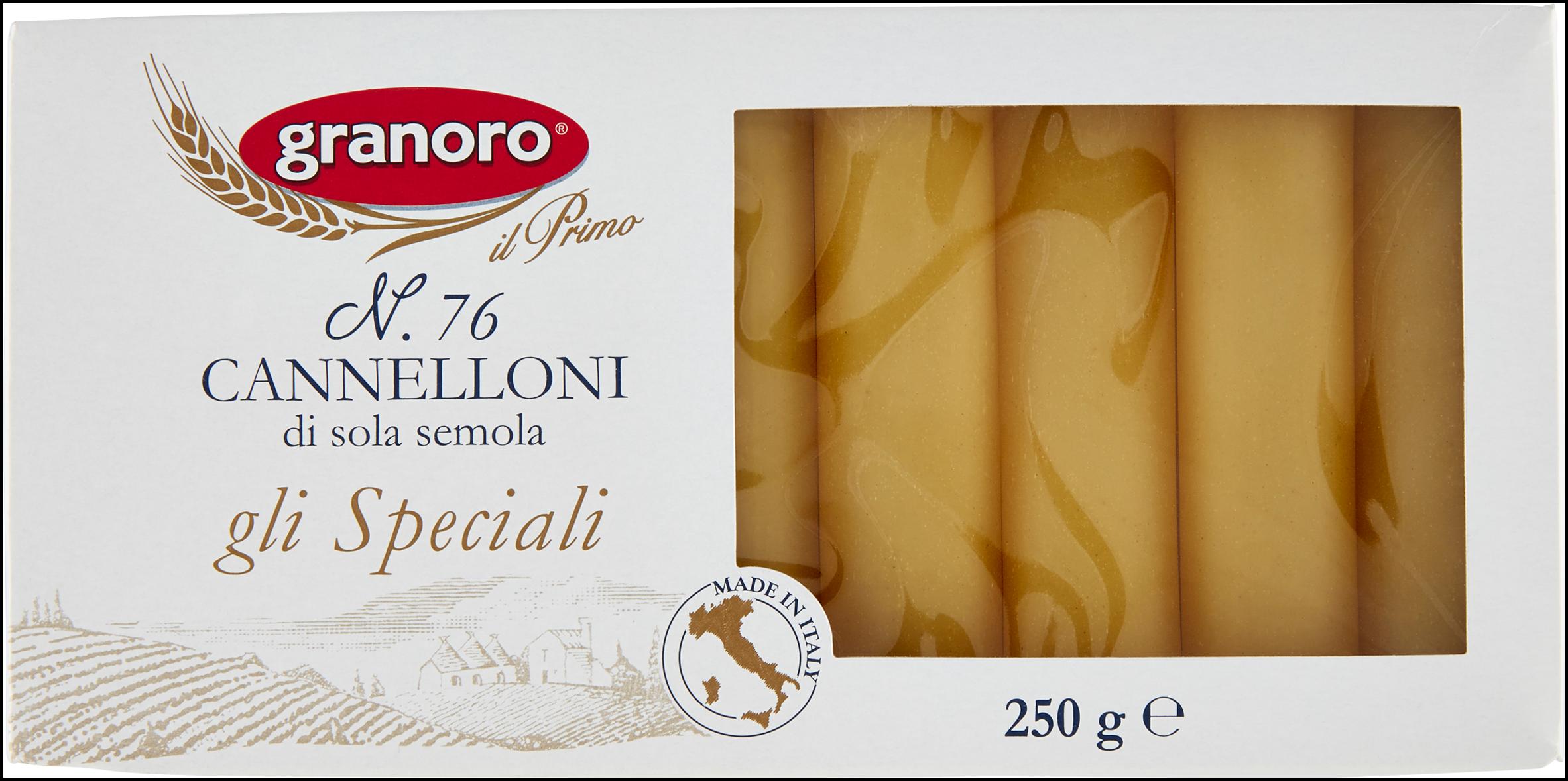 CANNELLONI SEMOLA GRANORO 250G N.76
