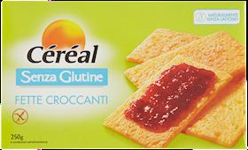 CEREAL FETTE CROCCANTI  S/GLUTINE G250