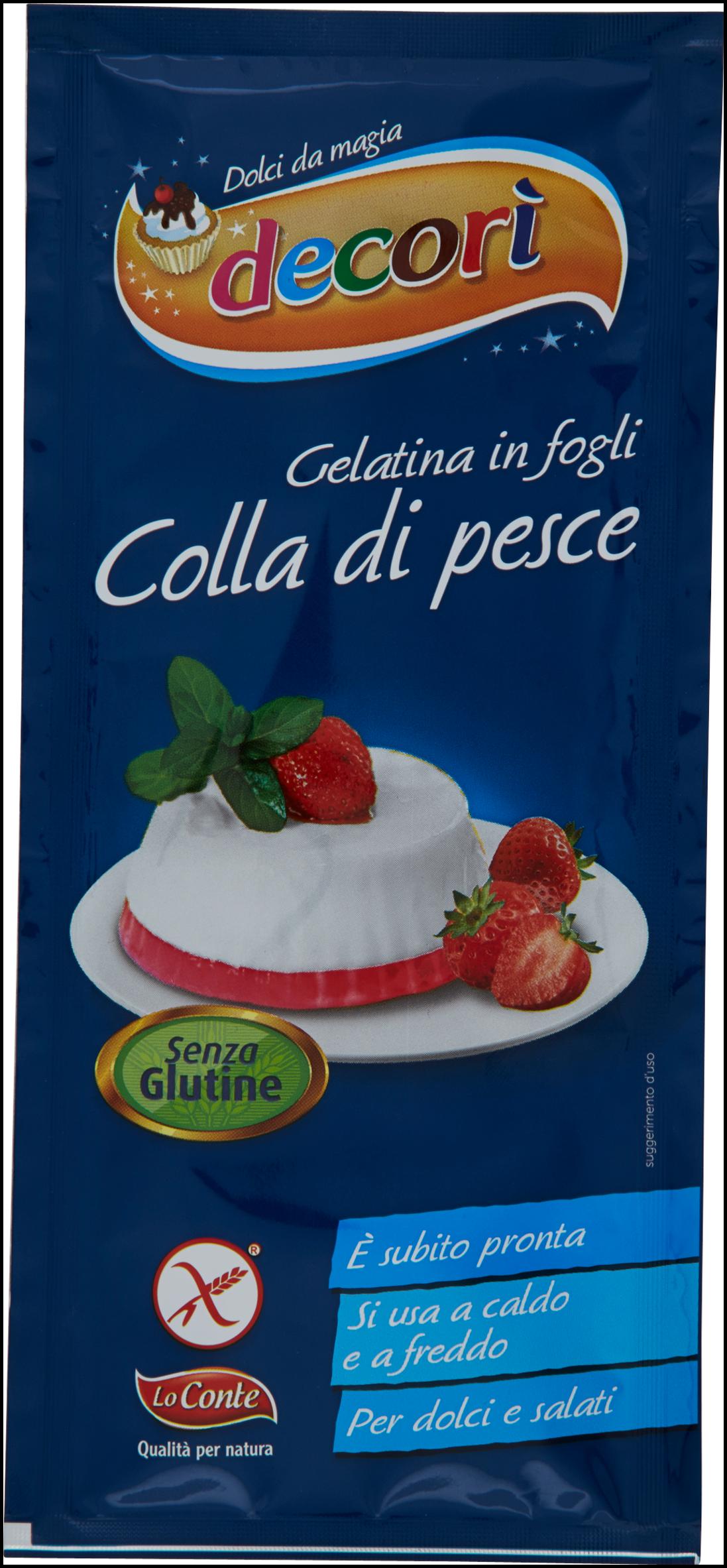COLLA DI PESCE DECORI' GR 4X5 F.