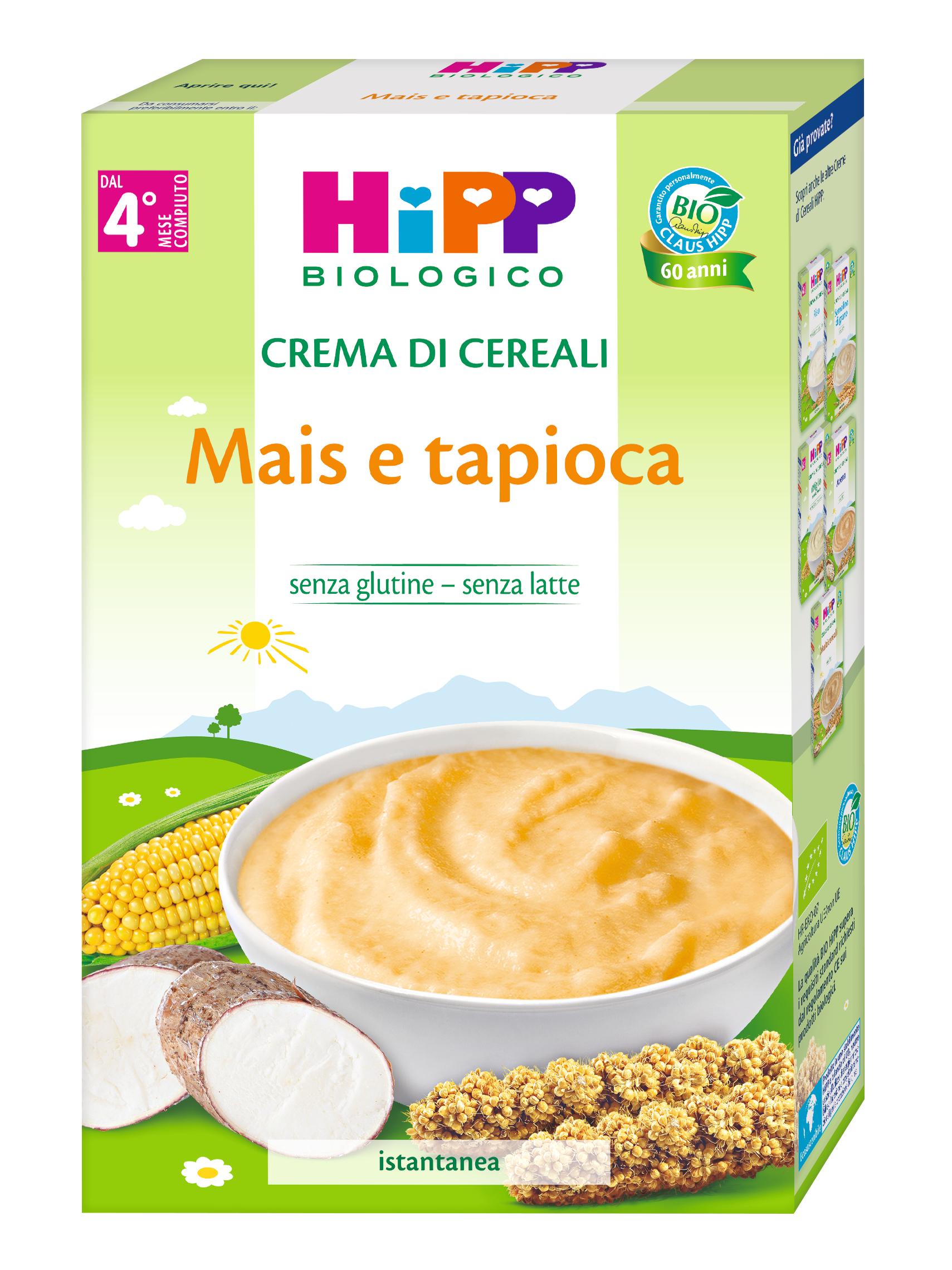 CREMA CER.MAIS&TAPIOCA HIPP G200