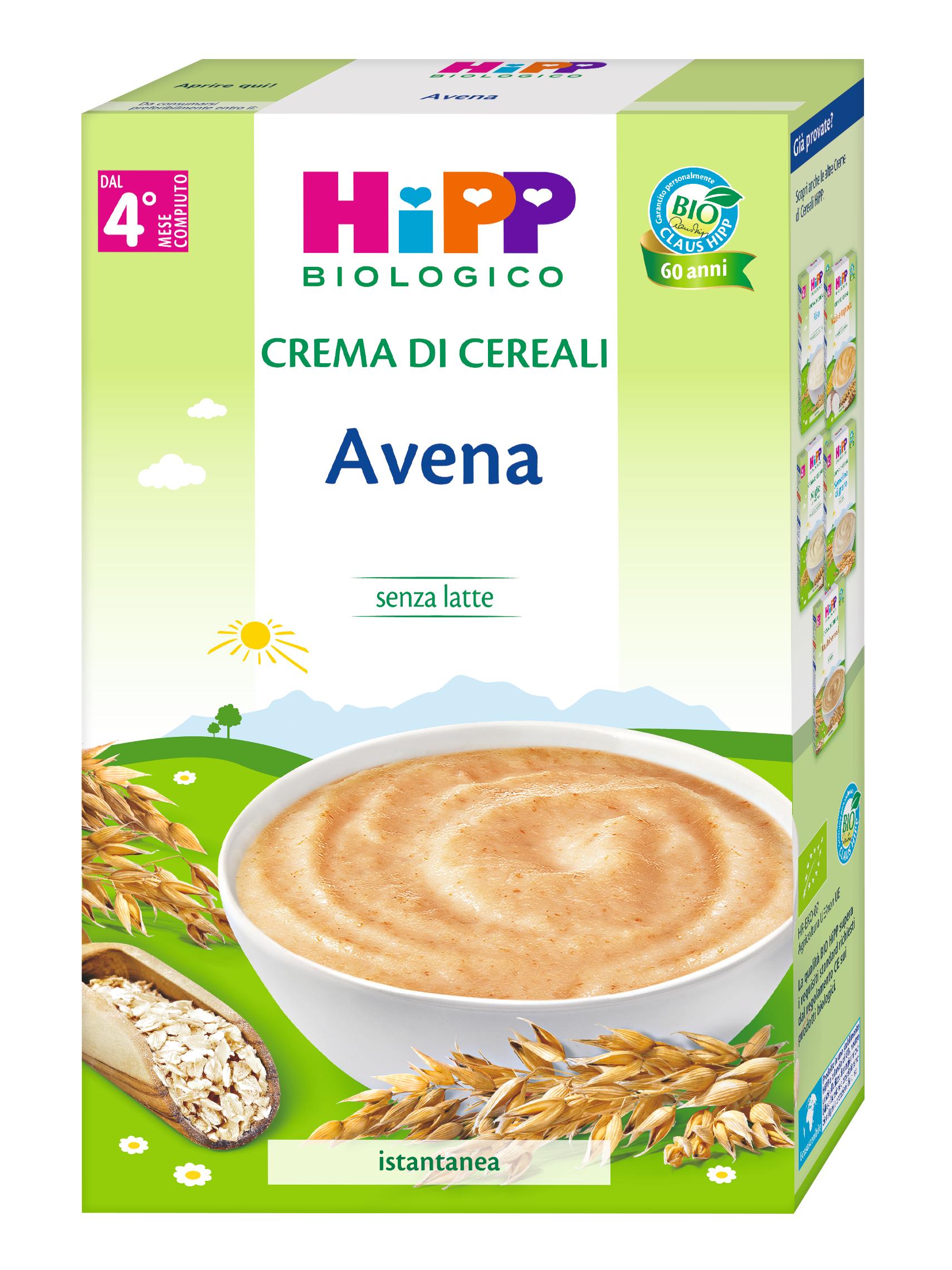 CREMA DI CEREALI AVENA HIPP G200