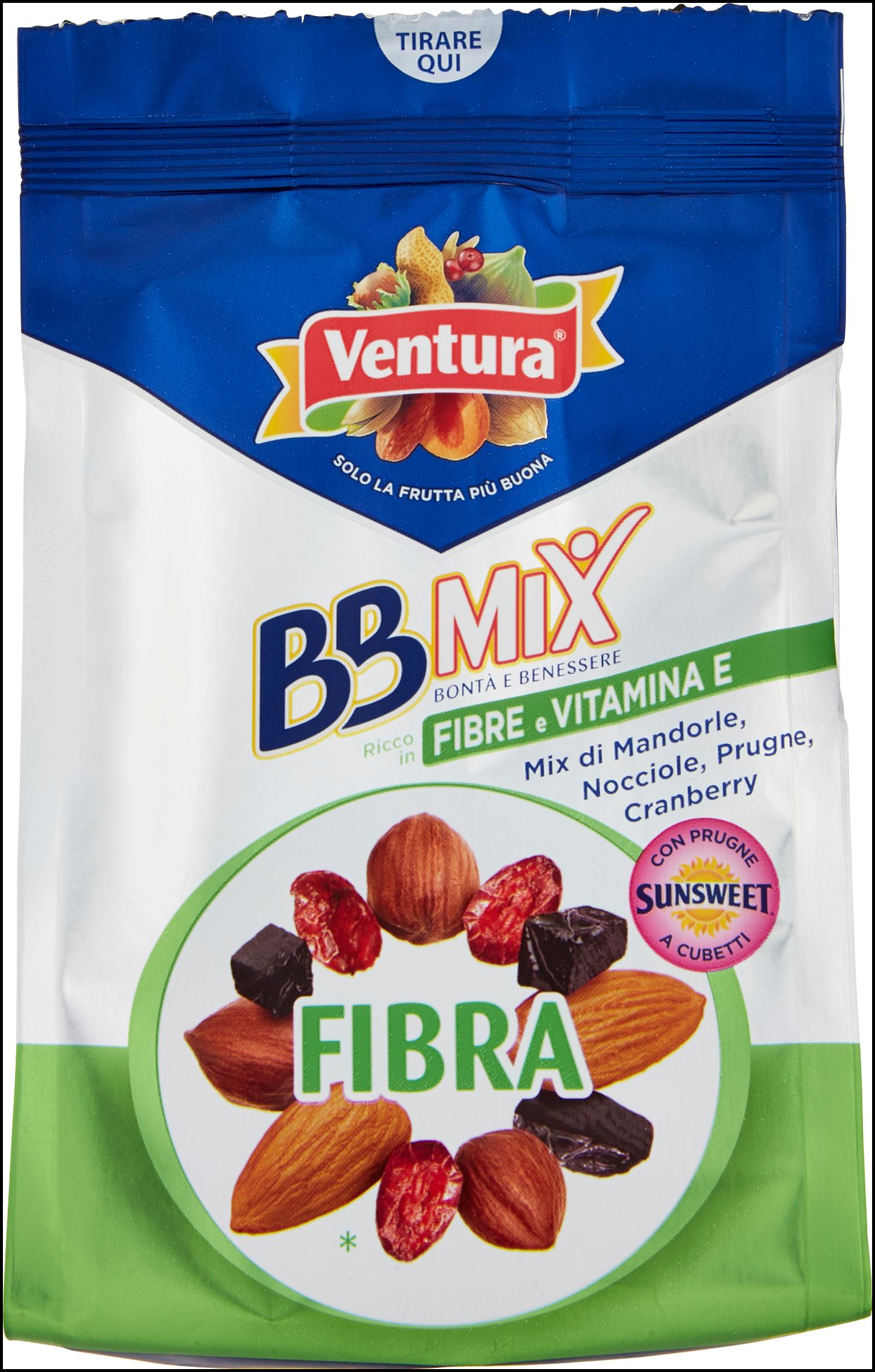 FIBRA MIX VENTURA 150G FRUTTA SECCA&PRUG
