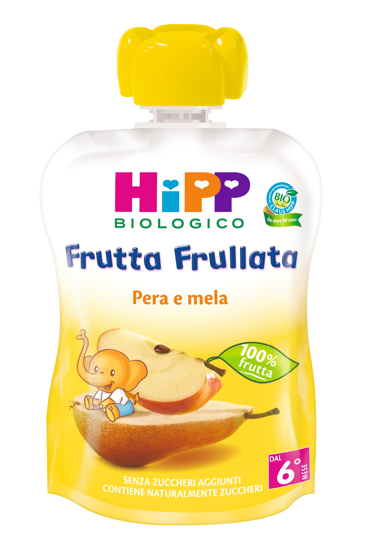 FRUTTA FRULL.PERA/MELA HIPP G90