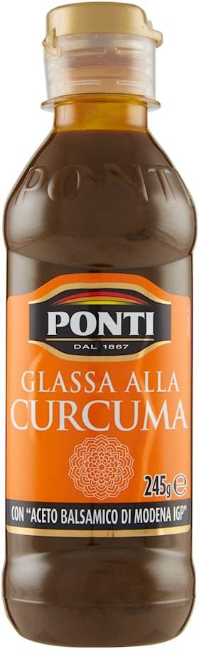 GLASSA DI ACETO PONTI 245G CURCUMA