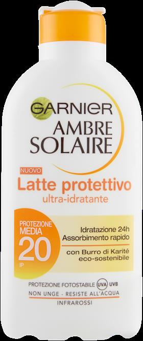 LATTE A.SOLAIRE 200ML IDRAT FP 20