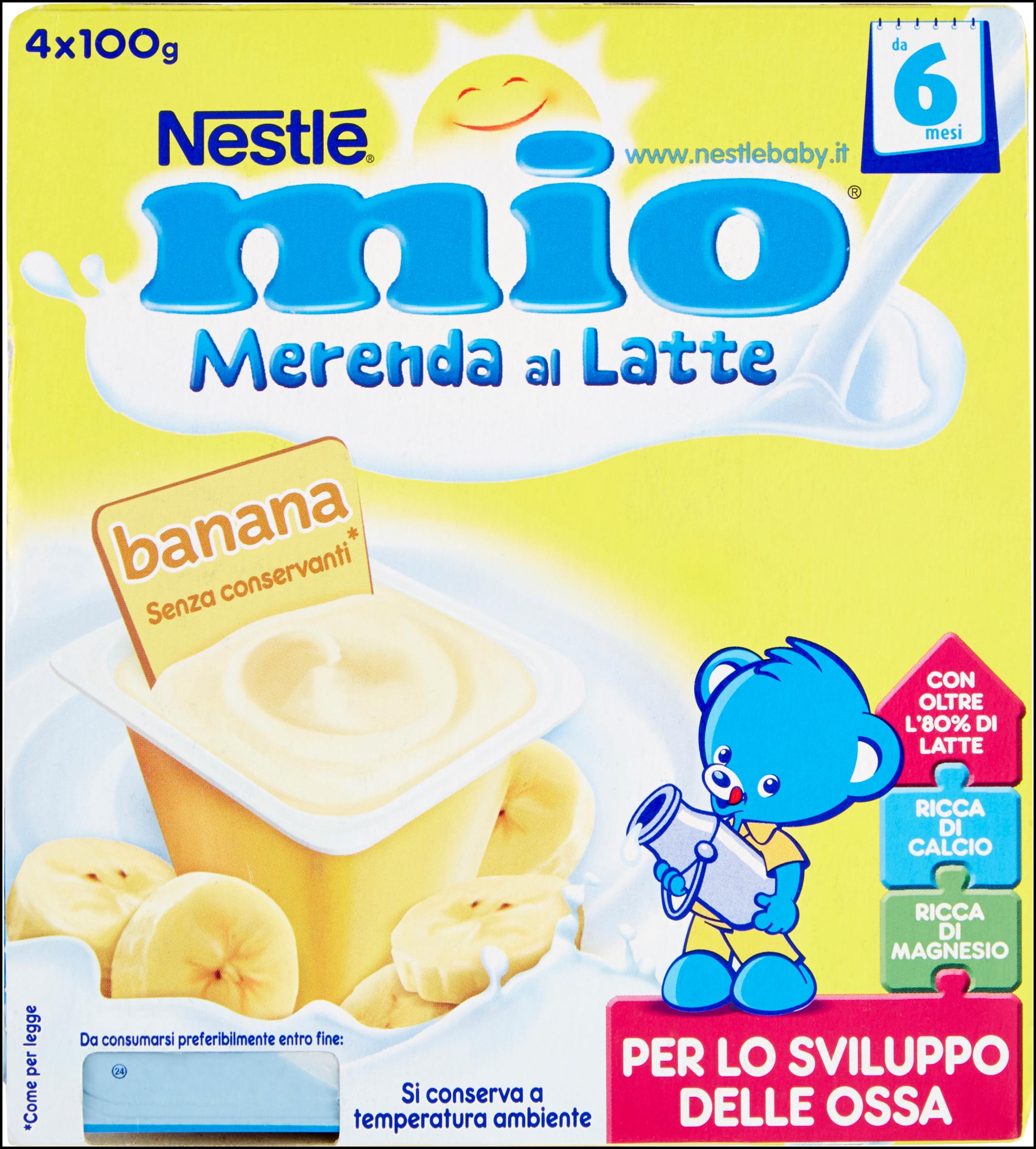 MERENDA NESTLE' MIO 100GX4 BANANA