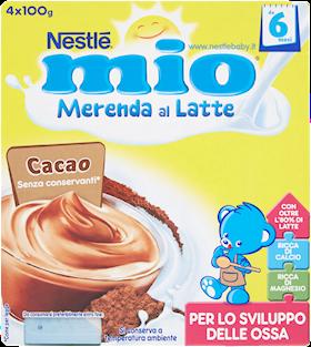 MERENDA NESTLE' MIO 100GX4 CACAO