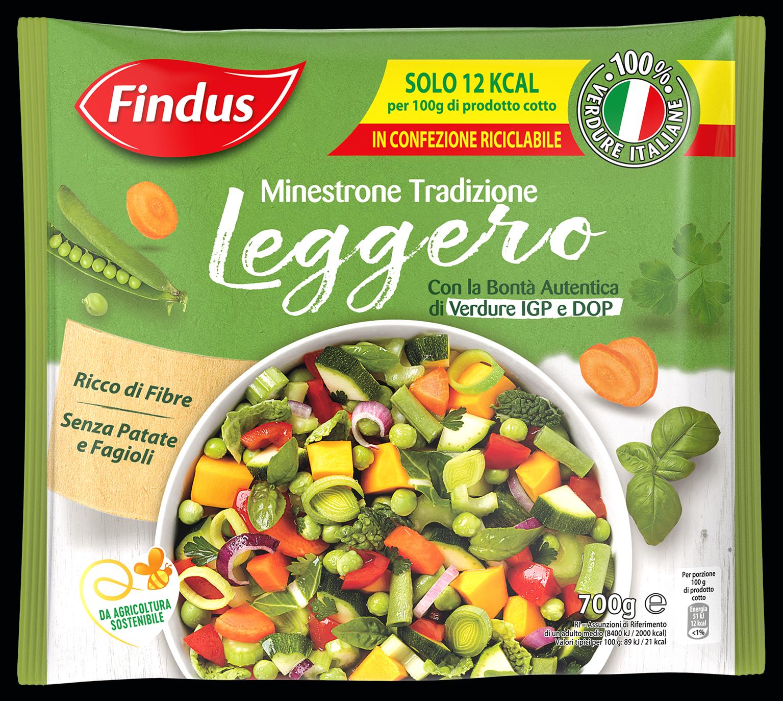 MINESTRONE TRADIZ LEGGERO FINDUS 700 G