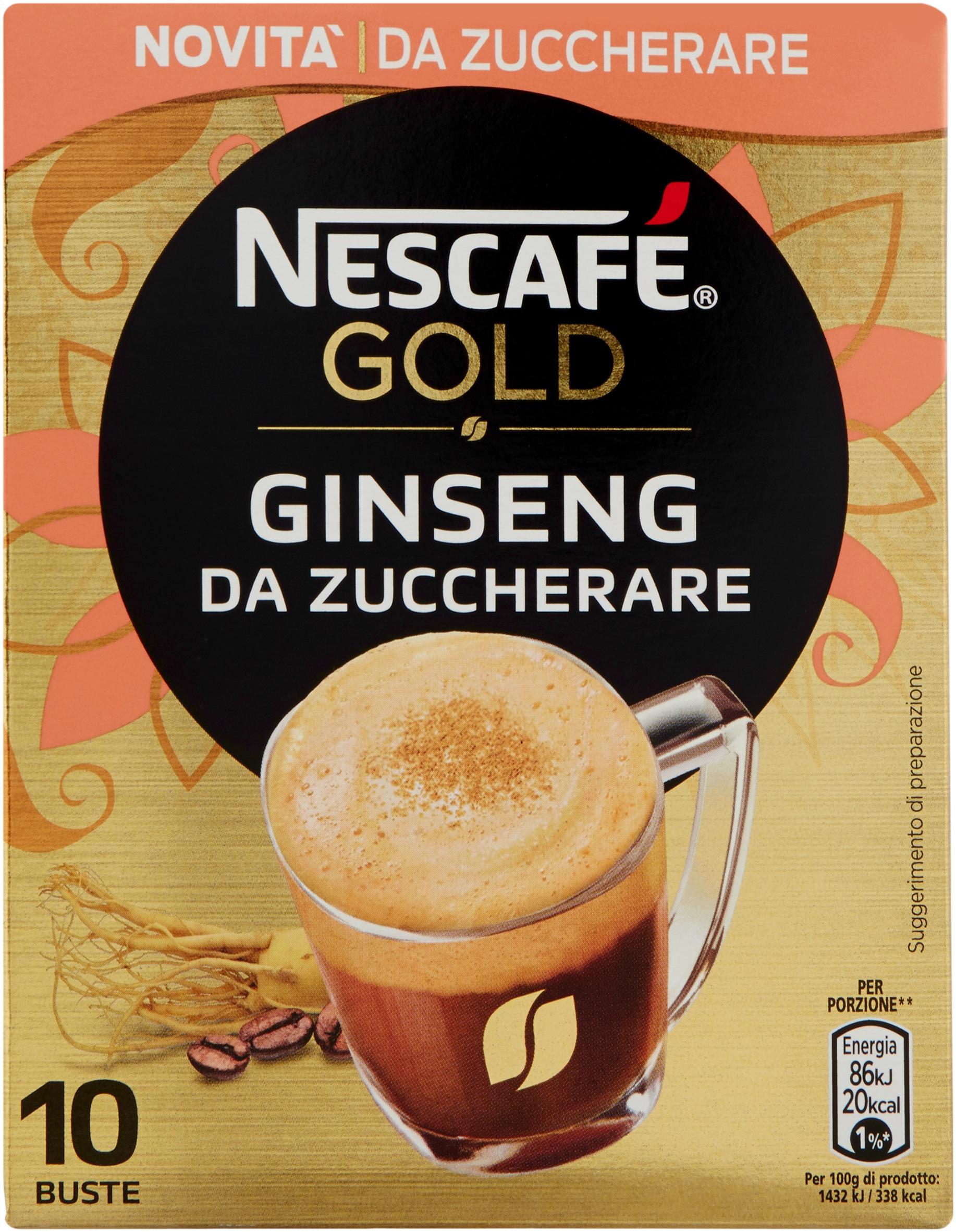 NESCAFE' GINSENG S/ZUCCHERO G60