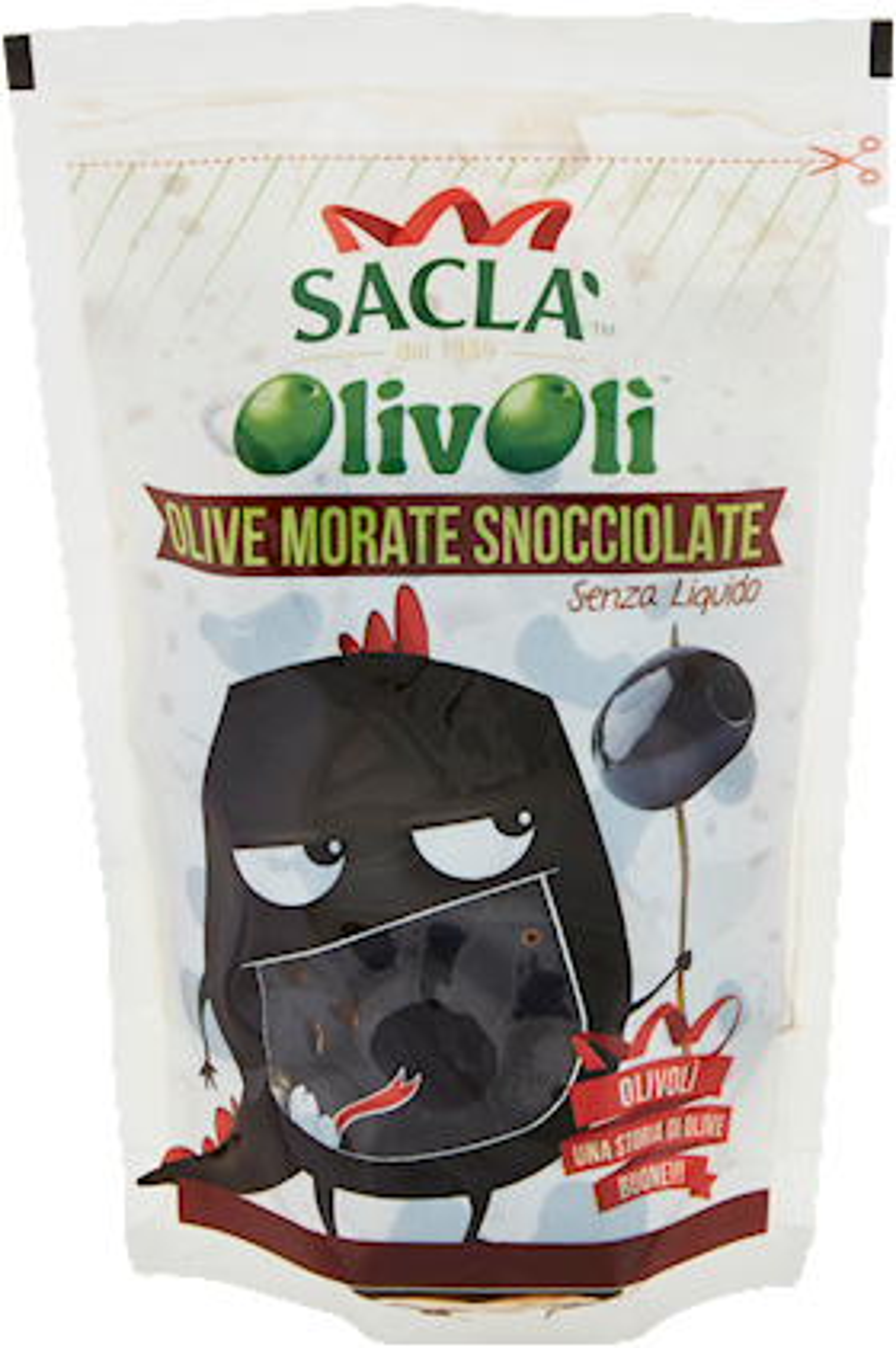 OLIVOLI' SACLA' 75G PAK SNOCCIOLATE