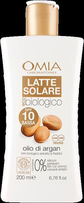 OMIA ECOBIOSUN LATTE SOLARE  200ML SPF10