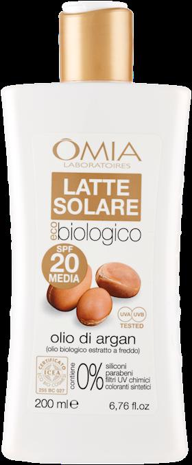 OMIA ECOBIOSUN LATTE SOLARE  200ML SPF20